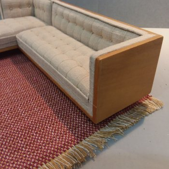 Mid Century Mod Sectional/Arm Detail