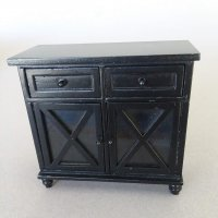 Hall Chest in Ebony Finish