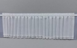 Bay Tier Curtain - White #2