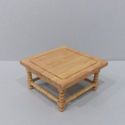 Classic Square Coffee Table - Oak