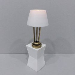 Modern/Deco Table Lamp Antique Brass
