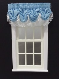 #101-Balloon Valance - #39 Baby Blue
