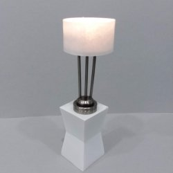 Modern Table Lamp Drum Shade