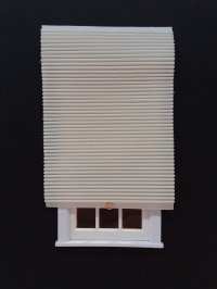 Pleated Shade - #51 Cream Solid