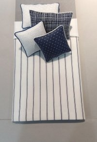 S-389 Navy & White Stripe