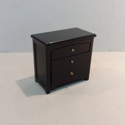 Chest/Night Stand - Black