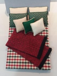 D-228 Crimson & Green Plaid