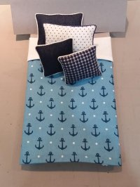 S-415 Nautical in Navy/Blue & White
