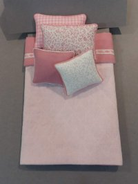 S-369 Pink Quilted/Pink & White Accents