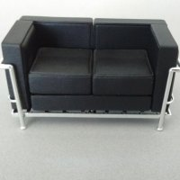 Loveseat - Black