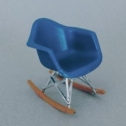 Eames Rocker - Blue