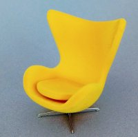 Egg Chair - Yellow