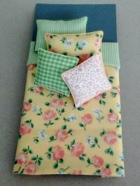 S-336 Yellow & Rose Floral Print