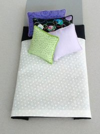 S-343 White with Black, Purple & Lime