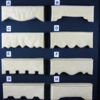 Cornice Styles Available