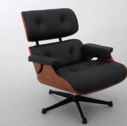 Eames Lounge Chair - Black