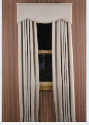 "Cornice Style ""A"" with Straight Side Panels"