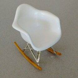 Eames Rocker - White